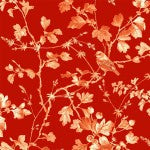 Quilting Fabric Serenade CX8545-REDX-D from Michael Miller, Renaissance Collection