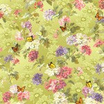 Quilting Fabric Windsor Terrace DCX8543-CELE-D from Michael Miller, Renaissance Collection