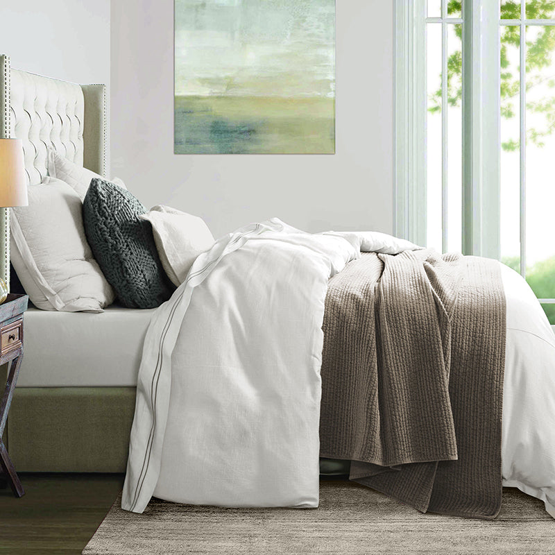 Hera Linen Duvet Cover Set at HiEnd Accents
