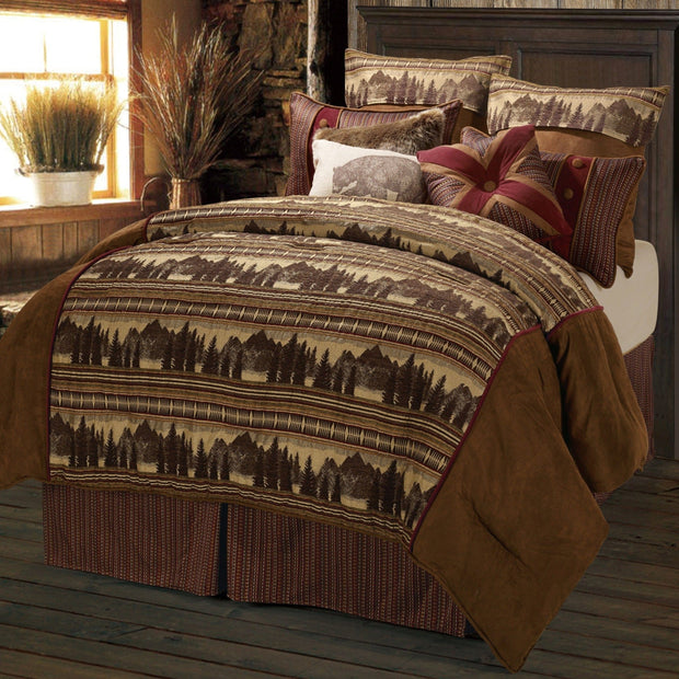 Briarfield 4 Piece Comforter Set, Full