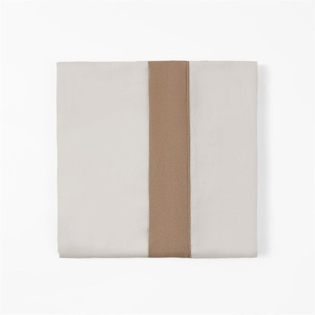 350 TC Cream Sheet Set with Tan Flange (Queen/King)