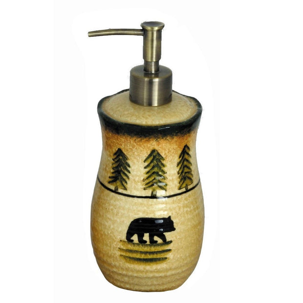 Bear Lotion Dispenser, 8""