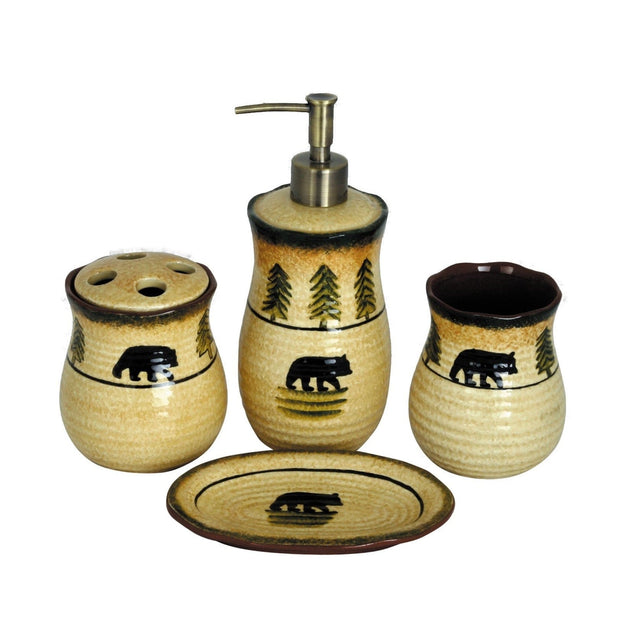 Bear Tooth Brush Holder, 4.5""