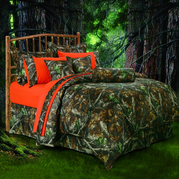 Oak Camo 7-PC Lodge Comforter Set