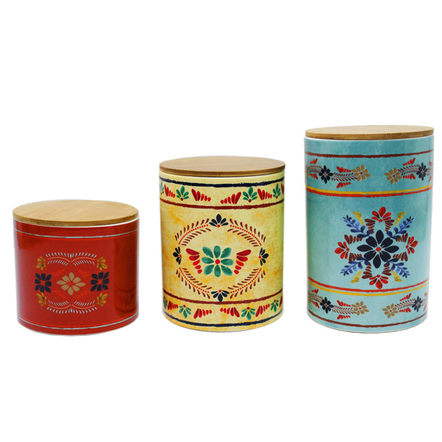 3 PC Bonita Canister Set