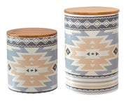 2-PC Desert Sage Canister Set