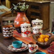 Del Sol Aztec 3-PC Kitchen Canister Set