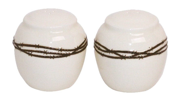 2 Pc Barbwire Shaker Set Hiend Accents
