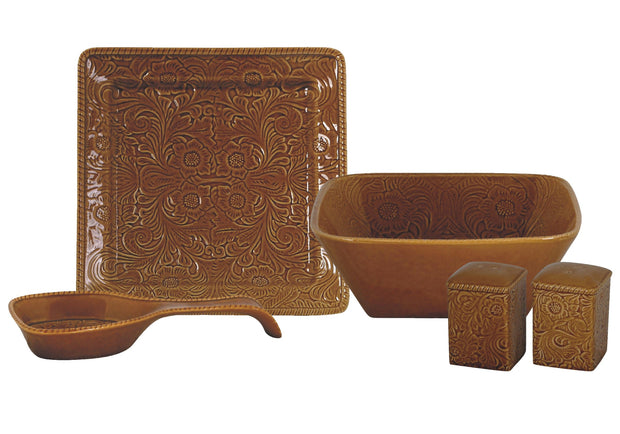 Savannah 5 Piece Completer Set Mustard