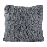 Hand Knitted Chess Euro Sham, 4 Colors