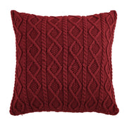 Cable Knit Soft Diamond Euro Sham (3 Colors)