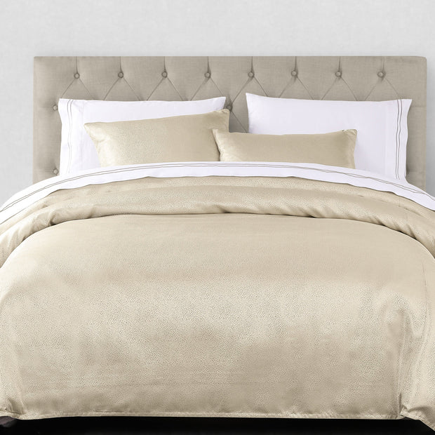 3 PC Marilyn Duvet Set, Gold (Queen/King)