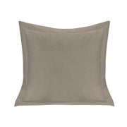Single Flanged Washed Linen Pillow, 5 Colors, 20x20