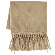 Diane Embossed Velvet Throw Blanket, 2 Colors, 50x60