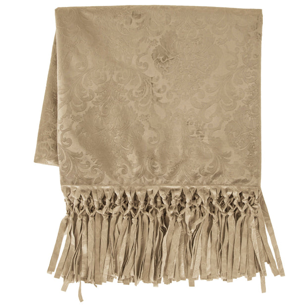 Diane Embossed Velvet Throw Blanket - 2 Colors