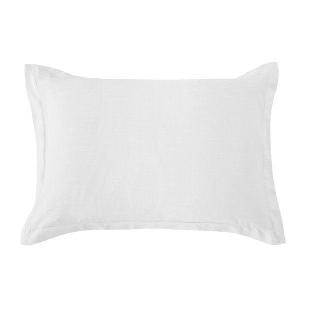 Washed Linen Tailored Pillow Sham (4 Colors)