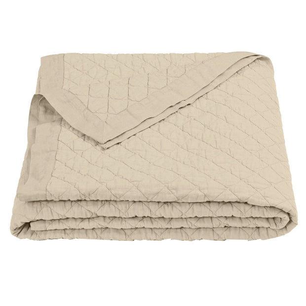 Linen & Cotton Diamond Quilt, 9 Colors