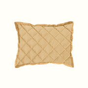 Velvet Diamond Quilted Boudoir Pillow (6 Colors)