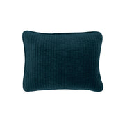 Stonewashed Cotton Velvet Boudoir Pillow, 6 Colors, 12x16