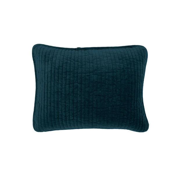 Stonewashed Cotton Velvet Boudoir Pillow (6 Colors)