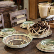 Joshua 14-PC Melamine Dinnerware Set