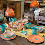 Feather 25-PC Melamine Dinnerware Set