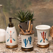 Cactus 3-PC Bath Countertop Accessory Set