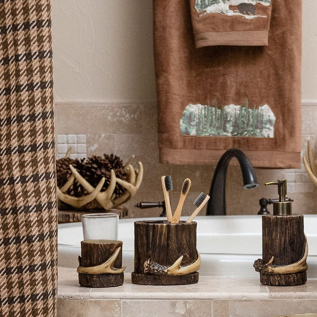Antler 4-PC Bath Countertop Accessory Set