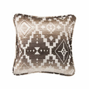 Chalet Square Aztec Throw Pillow, 18x18
