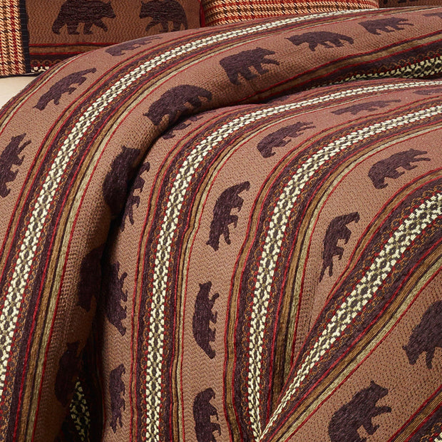 Bayfield Bear Duvet Cover Set, Full, Super King
