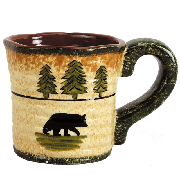 4 PC Bear Mug Set