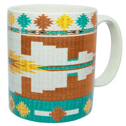Pueblo Aztec Mug and Horse Coaster 8-PC Set