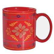 Bonita Mugs, 4 PC Red