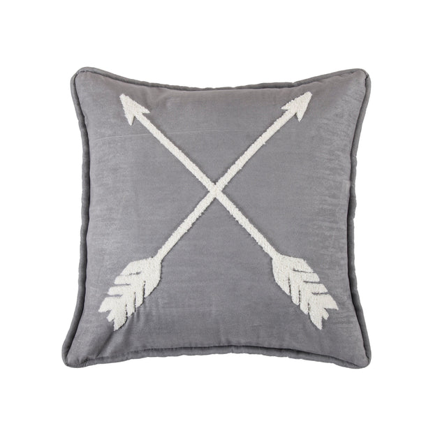 Free Spirit Arrow Throw Pillow, 18x18