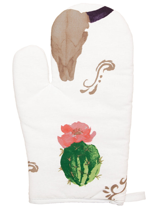 5-PC Skull / Cactus Oven Mitts
