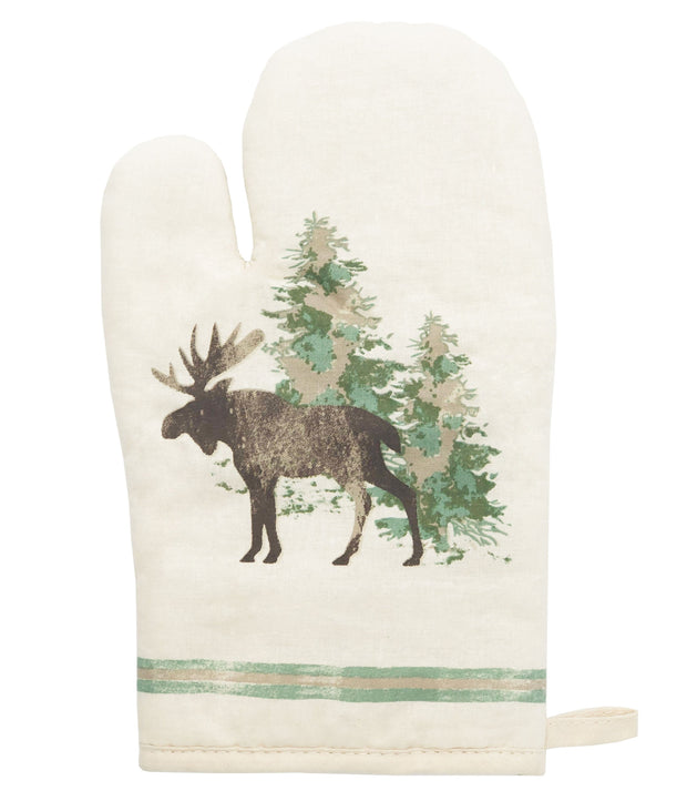 Scenery Tree Printed Oven Mitt