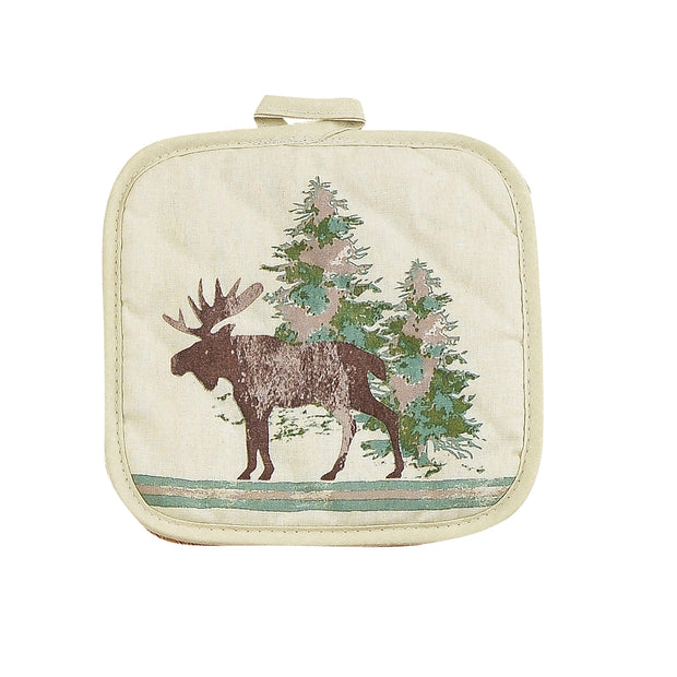 Scenery Tree Printed Pot Holder