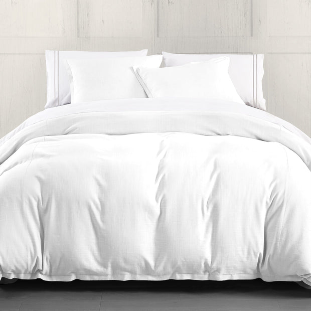 Hera 3PC Linen Duvet Cover Set, 4 Colors