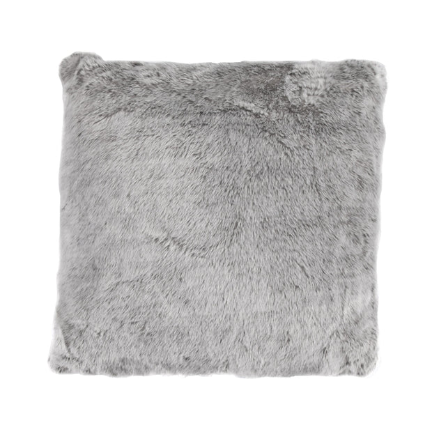 Oversized Arctic Bear Pillow, 22x22, Gray