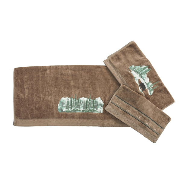 Antler 9 PC Bath Accessary and Joshus Towel Set