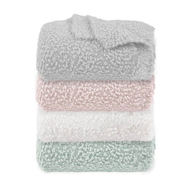 Pebble Creek Super Soft Throw Blanket, 4 Colors, 50x60