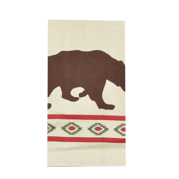 Aztec Bear Tea Towel
