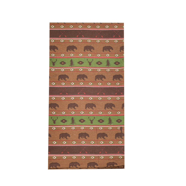 Aztec Multi Animal Tea Towel