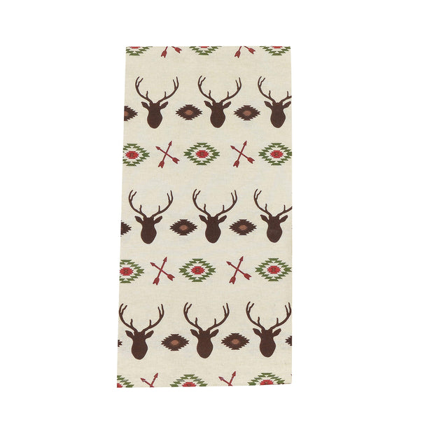Aztec Multi Deer Tea Towel