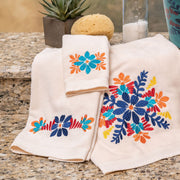 Bonita Towel Set, 3 PC Cream