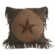 Laredo Diamond Shape Star Pillow, 2 Colors