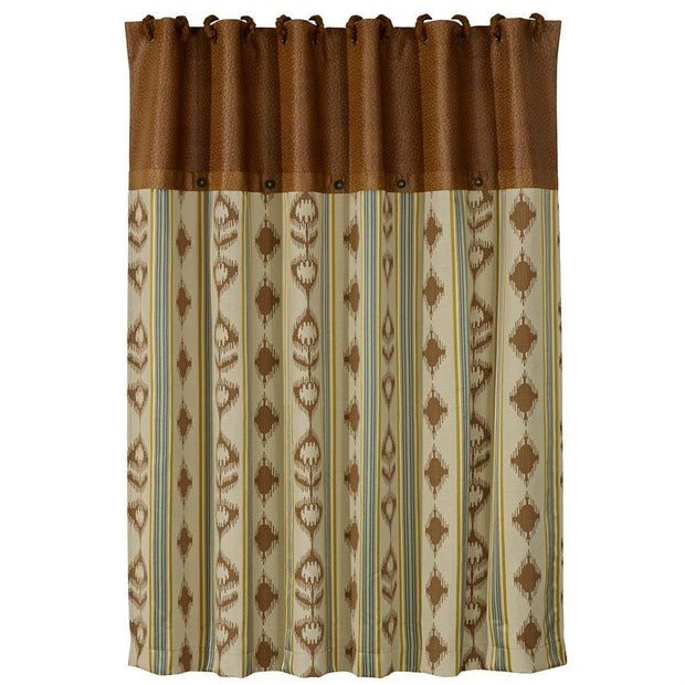 "Alamosa Shower Curtain, 72""X72""-HiEnd Accents."