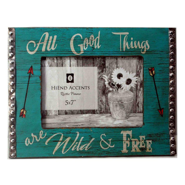 All Good Things Wooden Picture Frame, 5x7