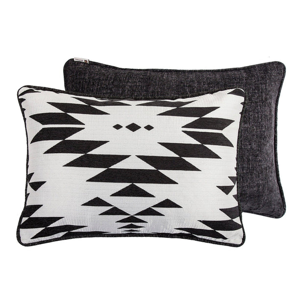 Amelia 3-PC Aztec Comforter Set, Black & White