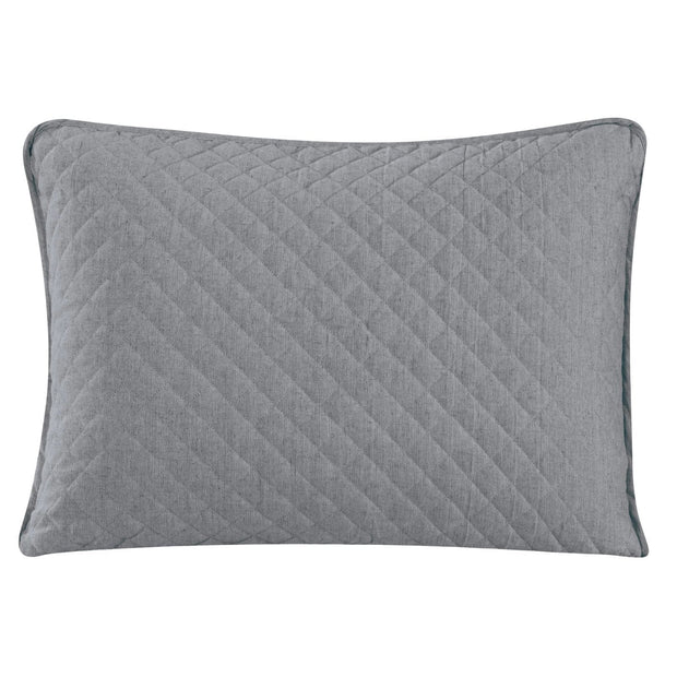 Anna Quilted Pillow Shams - Standard/King (PAIR)